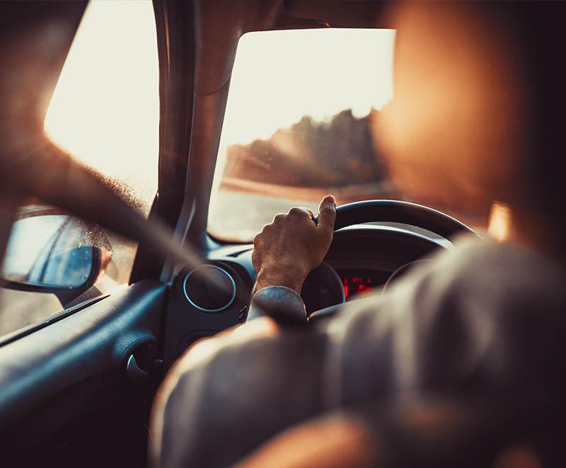 Overspeeding car - steering pic